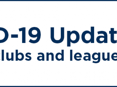 ECB COVID-19 Update for Clubs and Leagues