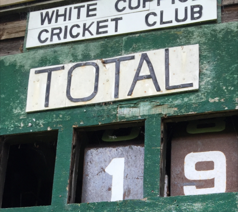 The only way is up after being bowled out for 19